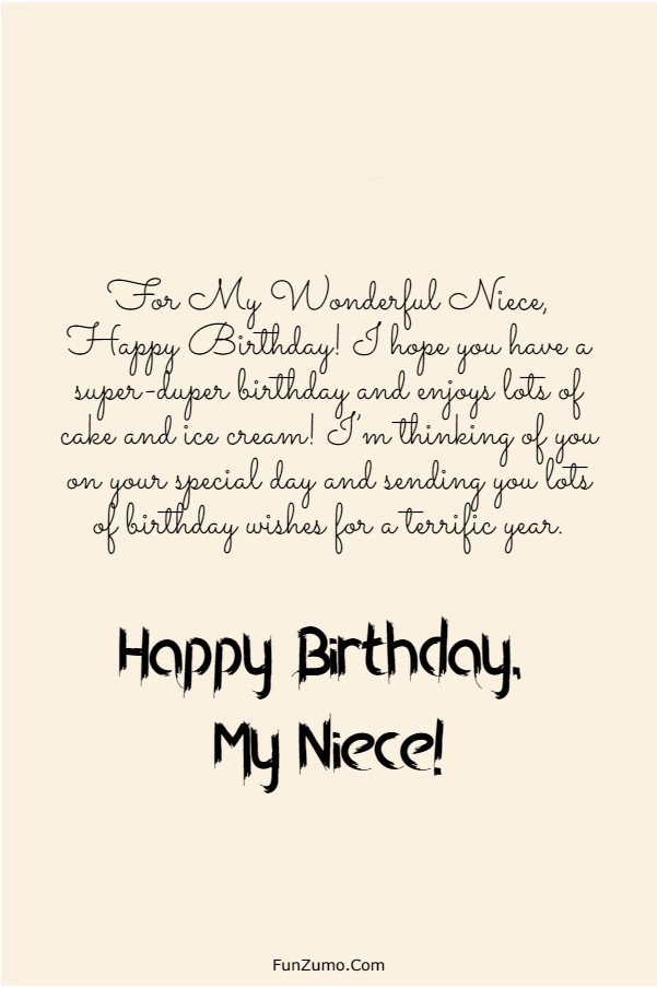 Happy Birthday Beautiful Niece Images : happy, birthday, beautiful, niece, images, Happy, Birthday, Niece, Wishes,, Quotes, Messages, FunZumo