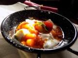 gnocchetti in salsa di pomodoro e riccioli di burrata