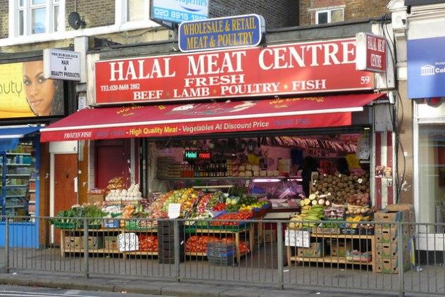 ハラル肉店