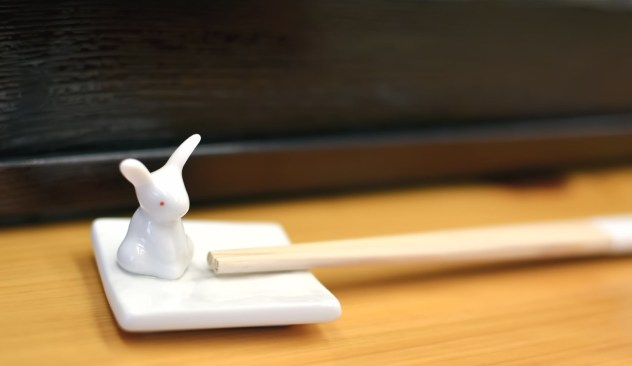 ウサギの箸置き