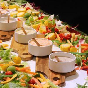 有機野菜の彩りバーニャカウダ