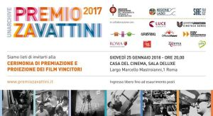 Cerimonia di Premiazione Premio Zavattini 2017   Roma @ Casa del Cinema   Rome   Italy