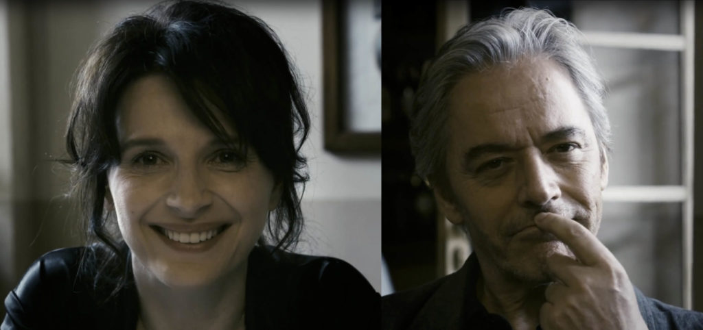 Copia conforme Juliette Binoche e William Shimell