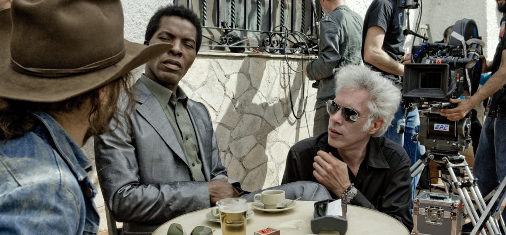 jim jarmusch sul set di The Limits of control