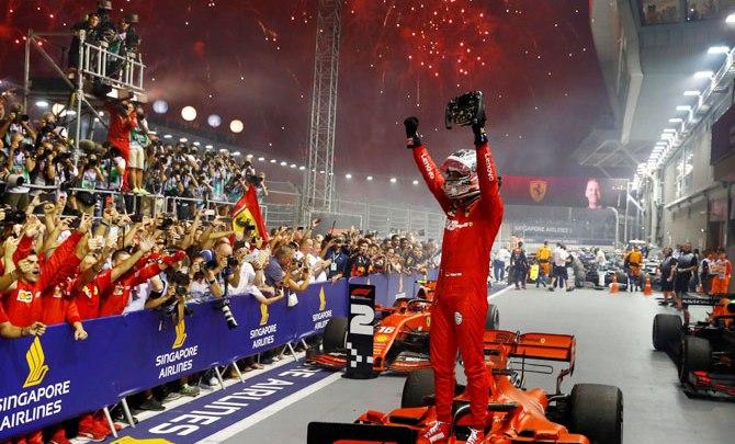 F1   Le pagelle di Singapore:Ferrari top, Mercedes deludente.