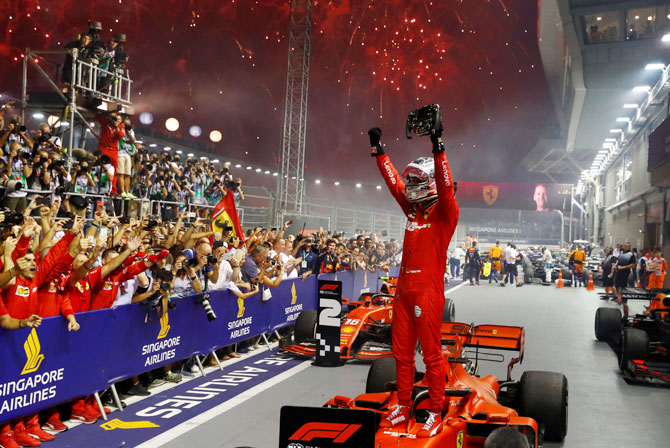 F1 | Le pagelle di Singapore:Ferrari top, Mercedes deludente.