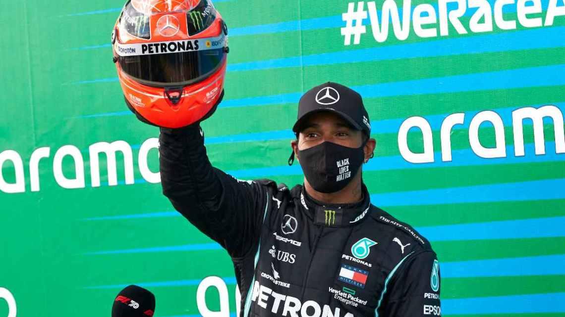 F1 | Le pagelle del Gran Premio dell'Eifel: Hamilton fa 91, Hulkenberg storico.