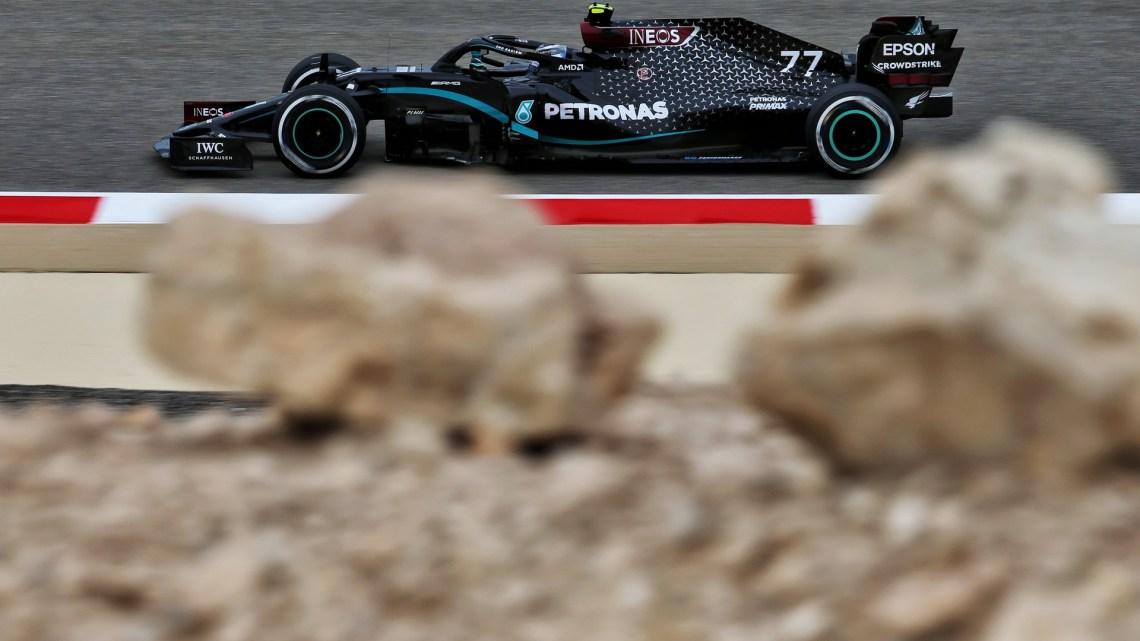 F1 | La Mercedes ha cambiato solo tre gomme a Bottas.