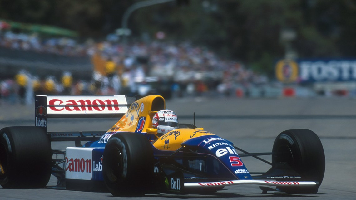 Nigel Mansell. Il ruggito del Leone.