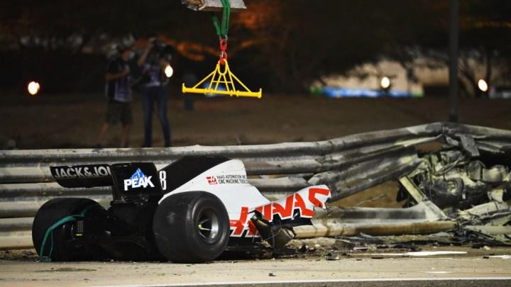 Romain Grosjean: quei 28 secondi di nulla