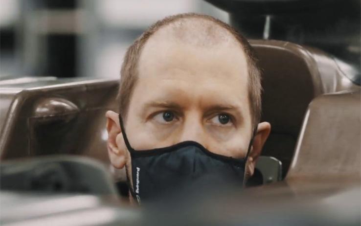 """Vettel: """"Sono motivato fino alla punta dei miei capelli."""""""