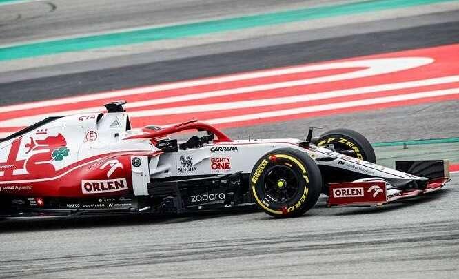 La C41 finalmente in pista. Le parole di Kubica e Vasseur