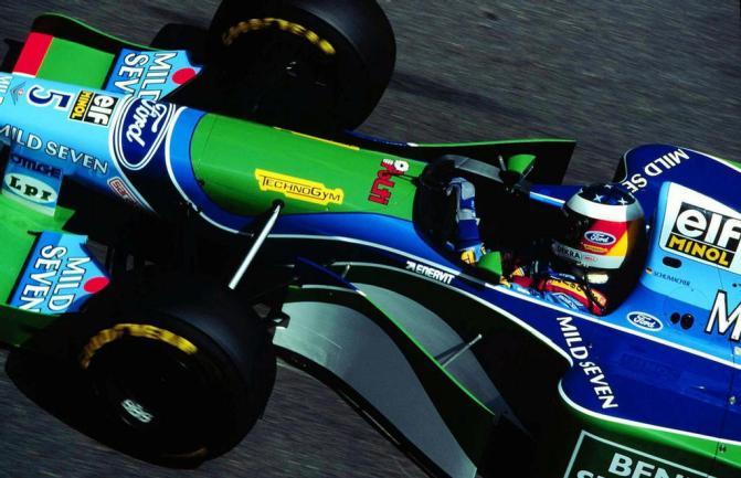 Casco Schumacher 1994
