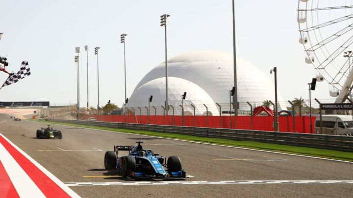 F2 | Feature Race – vince Zhou, convince Lawson