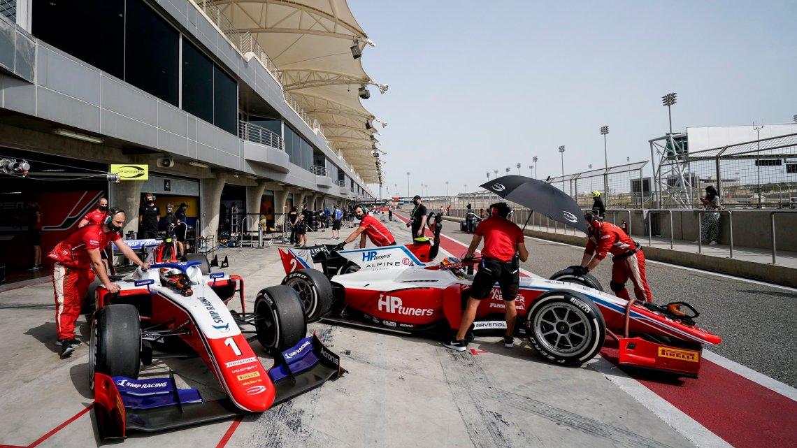 F2   Test Bahrain – le dichiarazioni dei piloti Prema