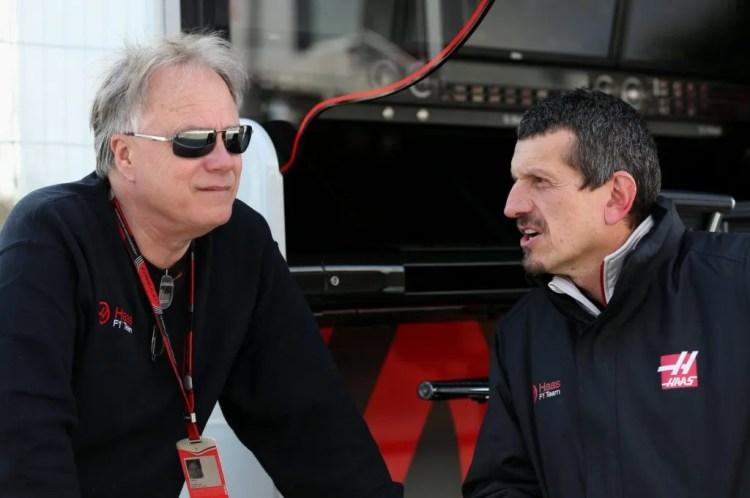 Gene Haas e Gunther Steiner
