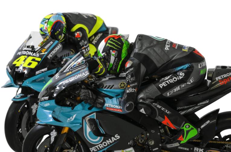 Petronas svela le nuove M1 di Valentino Rossi e Franco Morbidelli