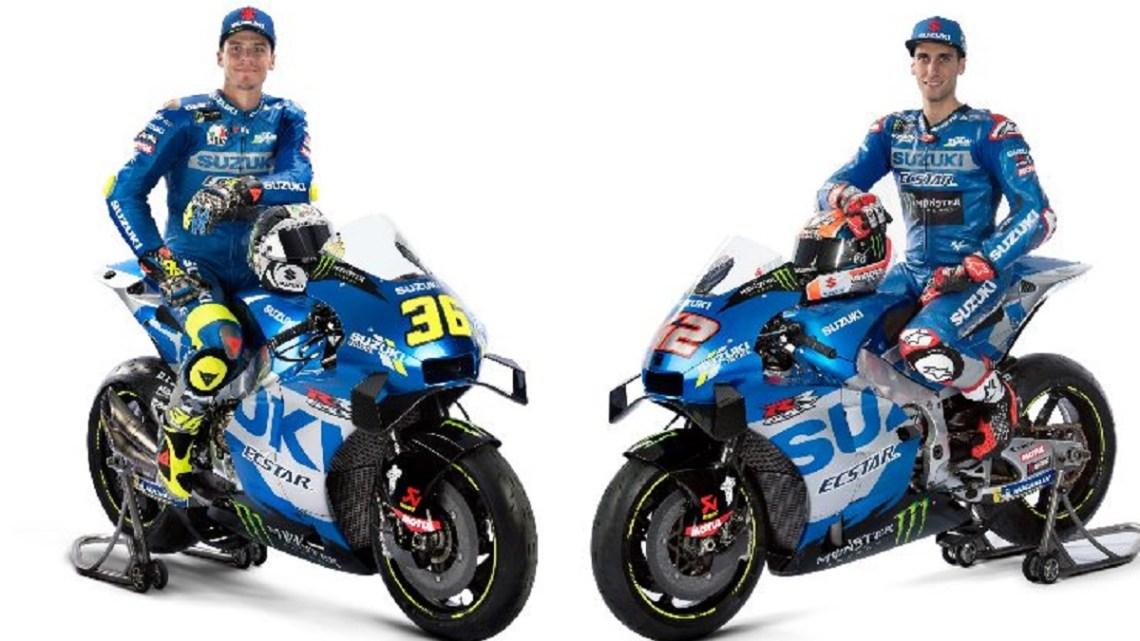 Suzuki presenta le moto per difendere il titolo MotoGP