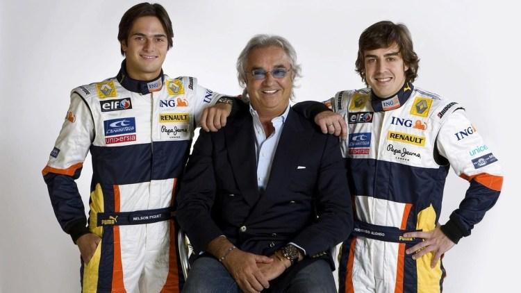 Nelson Piquet Jr, Briatore e Fernando Alonso