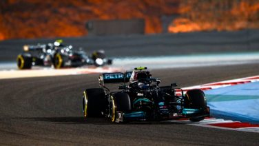 Toto Wolff Mercedes Red Bull Test Bahrain 2021