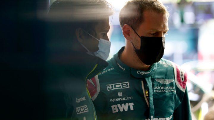 """Profondo verde: Aston Martin non decolla. Vettel: """"Dobbiamo migliorare""""."""