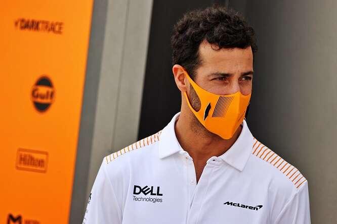 Daniel Ricciardo, inizio non semplice