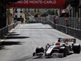 Nikita Mazepin durante il GP di Monaco