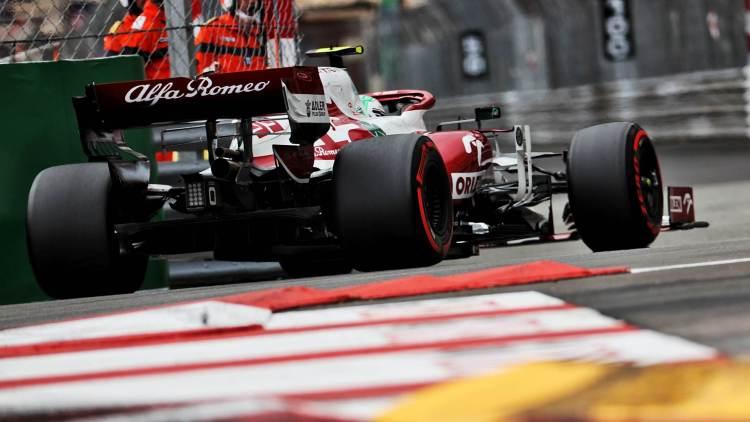 Antonio Giovinazzi (Alfa Romeo) durante il GP di Monaco