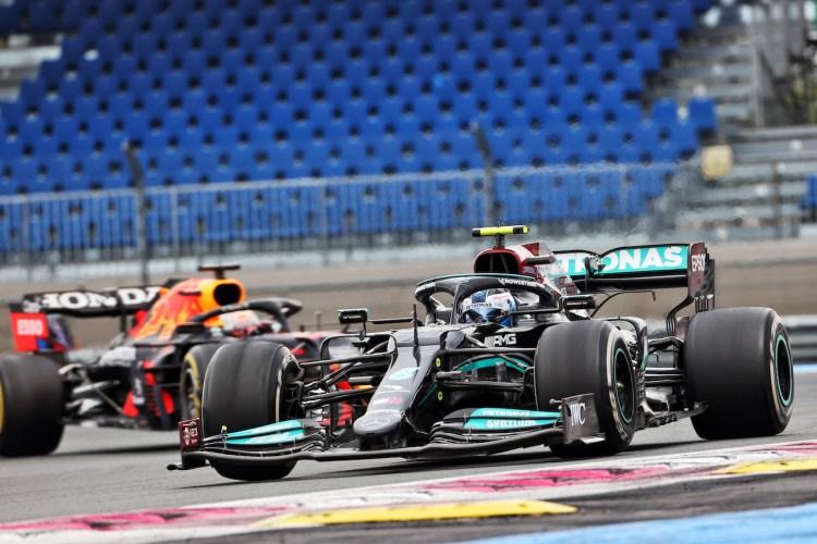Valtteri Bottas impegnato nel GP di Francia