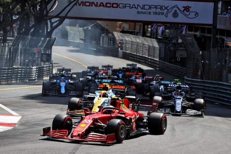 Carlos Sainz durante il GP di Monaco