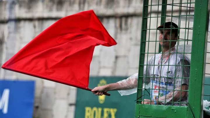 """Ecco come la bandiera rossa ha """"salvato"""" Hamilton dal DNF"""