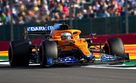 Daniel Ricciardo durante il Gp di Silverstone