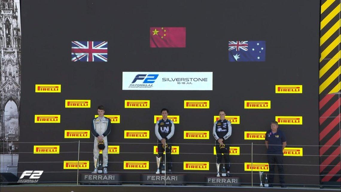 Feature Race F2 – Zhou vince davanti a Ticktum e Piastri