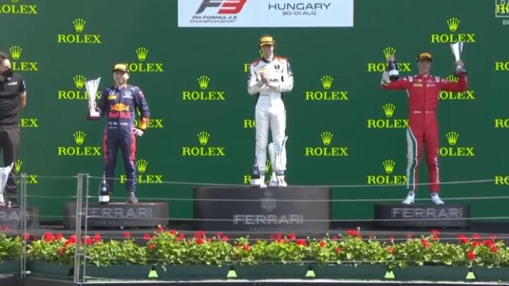 Formula 3: Ungheria – i risultati di Gara 1. Colombo dedica la vittoria ad Adrián Campos