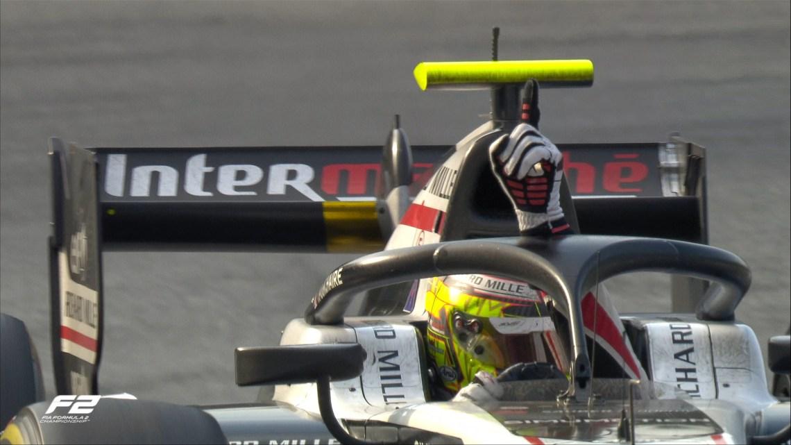 F2   Gran Premio d'Italia 2021 – Un francese vince a Monza, Theo Pourchaire sul gradino più alto di una gara spettacolare!
