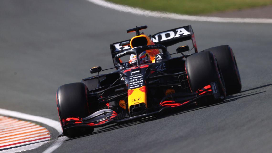 F1 | GP Olanda: Verstappen è il più veloce con la gomma rossa
