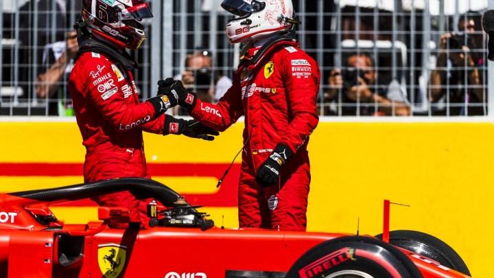Leclerc e Vettel dispensano consigli per la nuova coppia Mercedes.