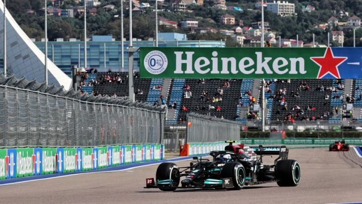 F1| GP Russia: Bottas comanda anche nelle FP2, secondo Hamilton, terzo Gasly. 7° Sainz.