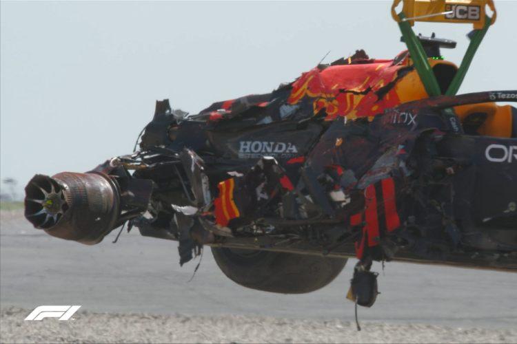 Red Bull incidentata di Verstappen a Silverstone