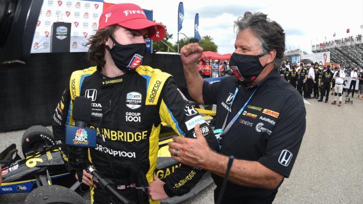 Andretti sostiene Colton Herta: in F1 già nel 2022?