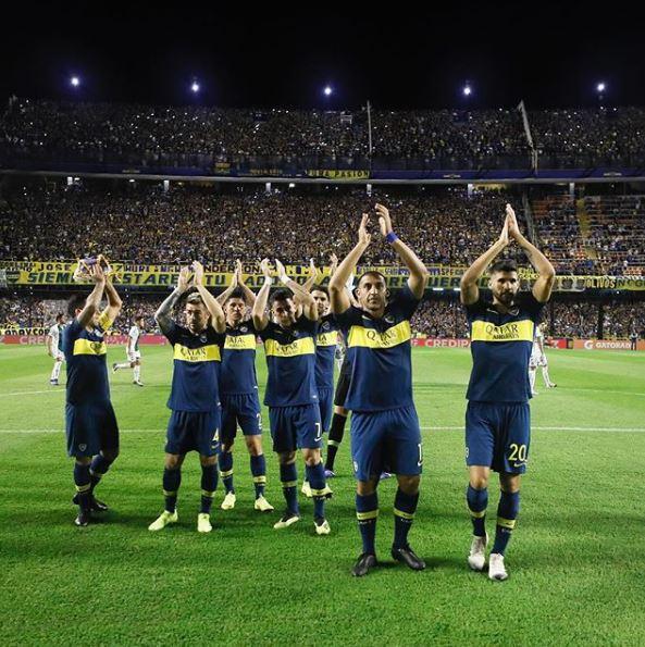 Boca Juniors. Foto: Instagram @bocajrsoficial