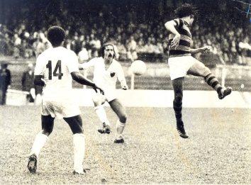 1974 contra o Flamengo