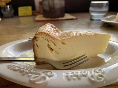 締まったチーズケーキ