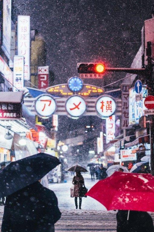 tumblr pmo5qggye41qz6f9yo1 540 - Découvrez les somptueuses photographies de Tokyo enneigée par Yusuke Komatsu