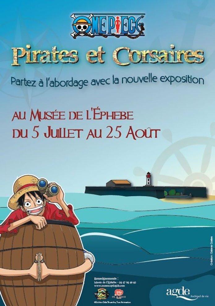 espo one piece musee de lephebe - One Piece : une superbe exposition au Cap d'Agde cet été !
