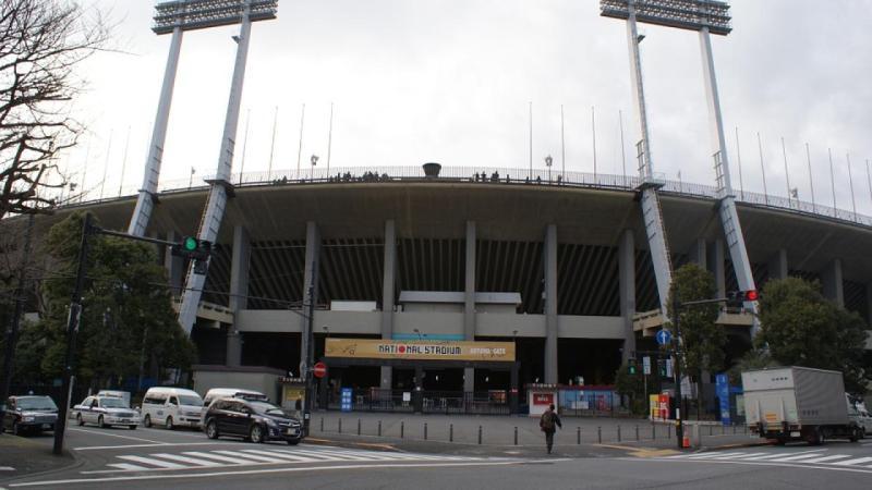 Vers une annulation des JO ? Le stade national olympique de Tokyo.