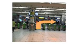 JR戸塚駅ホーム地下改札