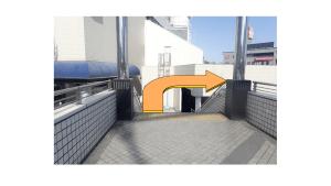 戸塚駅ペデストリアンデッキ階段