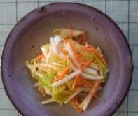 簡単レシピ - 白菜の中華甘酢づけ