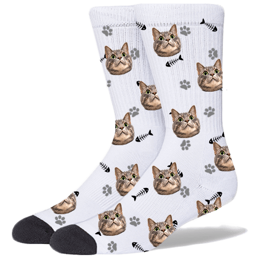 FurbabySocks-Custom-White-Cat-Socks